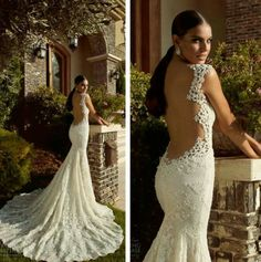 Gorgeous lace gown