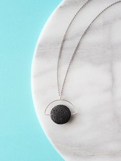 Handmade Jewelry: Lava Stone Necklace