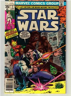 January 1978 Star Wars #7 Marvel Comic Book - Rare & Hard to Find - Vintage
