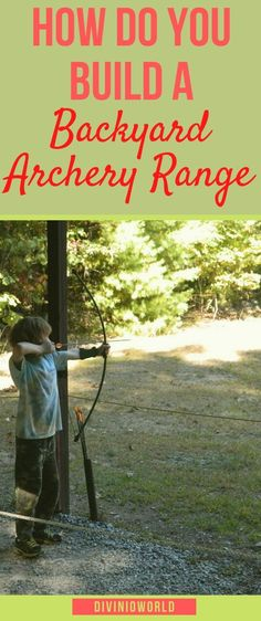 Looking ways to include bow archery to your outdoors life but getting confused? Here are archery range ideas you can implement in your backyard. These diy archery projects will help you live your outdoor love. Diy Archery Target, Archery Set, Archery Range, Archery Tips, Archery Targets, Archery Hunting, Outside Activities, Outdoor Activities, Outdoor Play
