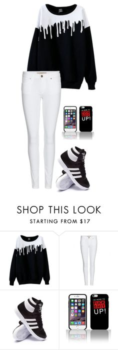 """""""Untitled #554"""" by breemanor on Polyvore featuring Burberry and adidas"""