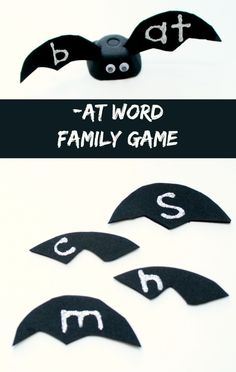 Bat -AT Word Family Game for Kids from Fantastic Fun and Learning