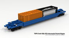 TOPS Code KQA/KTA Intermodal Pocket Wagon | Flickr - Photo Sharing!