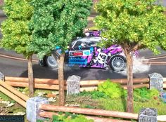 Ford Fiesta RS WRC (1/32 scale) #scalextric #slot #slotcar #slottrack #slotcartrack #circuito #rennbahn  #maqueta  #forsale  #scalemodel #modelismo #modelism #handmade #paint #airbrush #aerografo #landscaping #rally #cars #wrc #wec #paintwork #mountain #montaña #tree #arbol #arbre #diy #doityourself #entrepreneur #custom #artisan #woodart #art #carart #maqueta #madera #handmade #hechoamano #woodwork #fetama #ford #fiesta #kenblock #ghymkana #toypic #handcrafted #drift #drifting #derrapar Slot Car Tracks, Slot Cars, Ford Fiesta Rs, Handmade Paint, Wood Art, Woodworking, Trees, Circuit, Dioramas