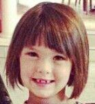 Cute little girl haircut