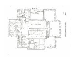 The Breakers - floor Cornelius Vanderbilt, Architectural Floor Plans, Newport Rhode Island, The Breakers, Gilded Age, My Dream Home, Castles, Houses, Flooring
