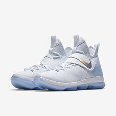c649e756b6951 LeBron XIV Men s Basketball Shoe White Basketball Shoes