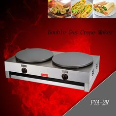 1PC gas type pancake machine Commercial Scones Making Machine non-stick pancake machine Crepe machine/ Pancakes grill //Price: $US $293.60 & FREE Shipping //     #homeappliance24