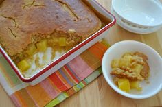 Southern Plate's Pineapple Cobbler