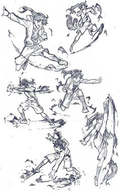 skyler marable's media content and analytics Action Pose Reference, Drawing Reference Poses, Action Poses, Manga Poses, Anime Poses, Gesture Drawing, Anatomy Drawing, Character Poses, Drawing Tips