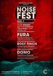 Noise Fest Vol.1 en Las Cigarreras http://www.agendalacant.es/index.php/noise-fest-vol-1-en-las-cigarreras