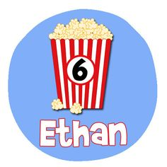 Popcorn onesie