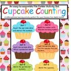 "This ""Cupcake Counting"" set of 6 File Folder differentiated learning activities contains both basic and intermediate skill practice. Counting to 10, adding one more, number words, matching colors and numbers, are all included in this complete set. This EASY-to-assemble file folder set meets the following Kindergarten Common Core Standards:    K:04.CC.:04  K:05.CC.:05  K:06.CC.:06  K:07.CC.:07"