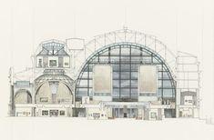 FR, Paris, museum d'Orsay. Architect Gae Aulenti, 1986.
