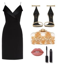 """Untitled #69"" by deborasilva02 ❤ liked on Polyvore featuring La Mania, Yves Saint Laurent, Oscar de la Renta, Lime Crime and Chanel"