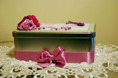 Świetne pudełeczko na drobiazgi robione przeze mnie ;) Zainteresowanych proszę o kontakt priv ;)