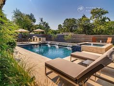 Riverbend Sandler Pools offers Geometric Pool Designs Dallas, Frisco and surrounding areas that homeowners can be proud of. Backyard Pool Landscaping, Backyard Pool Designs, Swimming Pools Backyard, Backyard Ideas, Small Pool Design, Pool Builders, Custom Pools, Dream Pools, Pool Houses