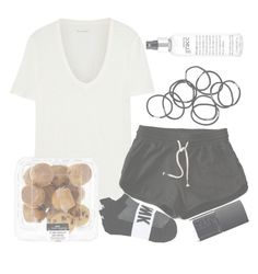 """""""lazy day"""" by aurorasrose ❤ liked on Polyvore featuring Monki, philosophy, Étoile Isabel Marant, Victoria's Secret and NARS Cosmetics"""