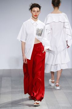 trousers!! // Akira Australia Resort 2017 Fashion Show