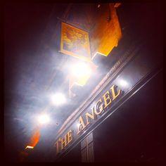 Pub Signs, Covent Garden, Great Britain, Weird, British, England, Neon Signs, Angel, App