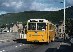 Alexander Northern Reliance NAC2 at Ballater in September 1971. Picture: David Christie