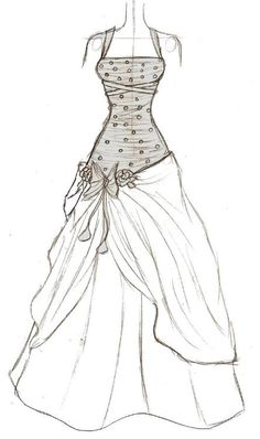 1000 Images About Art On Pinterest Custom Wedding Dress Sketches And Dress Sketches