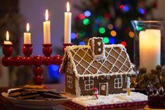 A Swedish pepparkakshus (gingerbread house)