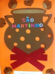 Resultado de imagem para trabalhos sobre o sao martinho Education, School, Kids, Inspiration, Inspired, Sint Maarten, Seasons Of The Year, Crafts, Activities