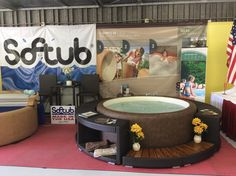 Our booth at the Hernando County Fair in Brooksville, FL.