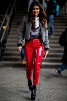 The NYFW Street Style Looks That'll Inspire Your Winter Wardrobe - New York Fashion Week Street Style AW17 from InStyle.com