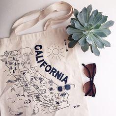 California Maptote!