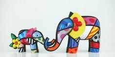 """""""Mothers love"""" 2008 by Brazilian artist Romero Britto (b.1963)"""