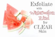 Have you ever tried using leftover  #watermelon rinds (the white part) on your face? If not here's something you should know  Watermelon rinds  are loaded w/ essential vitamins & minerals including citrulline - an amino acid that supports the skin's healing & regenerative process and works particularly well with treating #acne & #blemishes  Also contained in the rinds is an #antioxidant lycopene that helps reduce free radicals hence preventing premature signs of aging  By gently rubbing the…