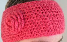 Heklet pannebånd i myk Alpacka-ull. Passer til hodestørrelse ca 55-57 cm. Bringebær, rosa, korall Crochet Mittens, Beanie, Crafty, Hats, Handmade, Fashion, Tejidos, Crochet Gloves, Moda