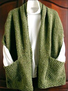These reader's wraps are perfect for snuggling in front of the fire with your favorite novel and a cup of hot cocoa. Knit up a delicate, lacy wrap or a little heavier one with worsted-weight yarn to give to a friend or keep from yourself.