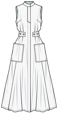 2729 Best Fashion Flat Sketch images in 2020 | Flat sketches