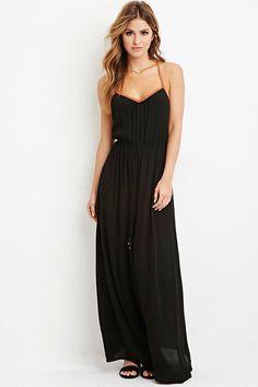 T-Back Maxi Dress