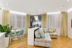 Amenajare atipica intr-un apartament de 2 camere- Inspiratie in amenajarea casei - www.povesteacasei.ro