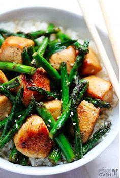 Easy Chicken & Asparagus Stir-Fry