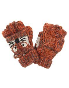 Boy Novelty Fox Capped Gloves http://shop.pixiie.net/boy-novelty-fox-capped-gloves-orange/
