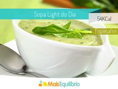 Sopa de espinafre http://maisequilibrio.terra.com.br/sopa-de-espinafre-light-8-2-7-195.html