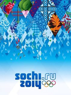 2014 Olympic//Olympics Poster//Speed Skating//Pictogram//Winter Games//sochi.ru 2014