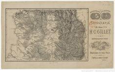 (Carte de la province de Santiago [Chili]) | Gallica