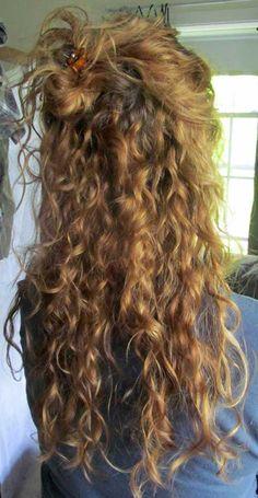 schöne lockige Frisuren