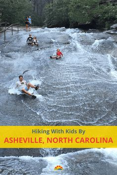 Hiking With Kids By Asheville, North Carolina. We found 5 hikes/paths that are prefect to do with kids when you are visiting Asheville, North Carolina.  via @Crazy Family Adventure