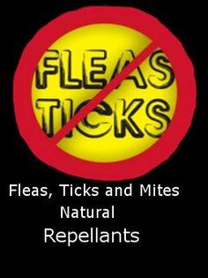 Natural tick repellants
