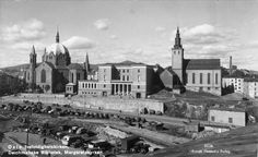 Trefoldighetskirken, Deichmanske, Svenska Margaretakyrkan. ca. 1935-1940