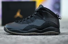 d28386c7f50c Air Jordan 10 OVO Black 2016 Review (Drake). New Sneakers ...