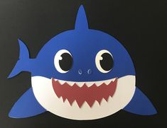 Ocean Art Projects For Toddlers Under The Sea Trendy Ideas Toddler Art Projects, Toddler Crafts, Preschool Crafts, Summer Crafts For Toddlers, Art For Kids, Shark Face Painting, Under The Sea Crafts, Shark Craft, Shark Decorations