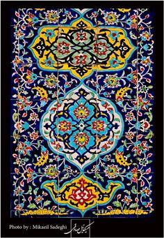 Iranian tiling 3,Iran